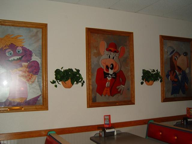 Wanted Chuck E Cheese In Store Wall Art