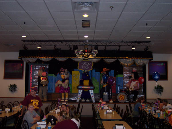 chuck e cheese knoxville tennessee