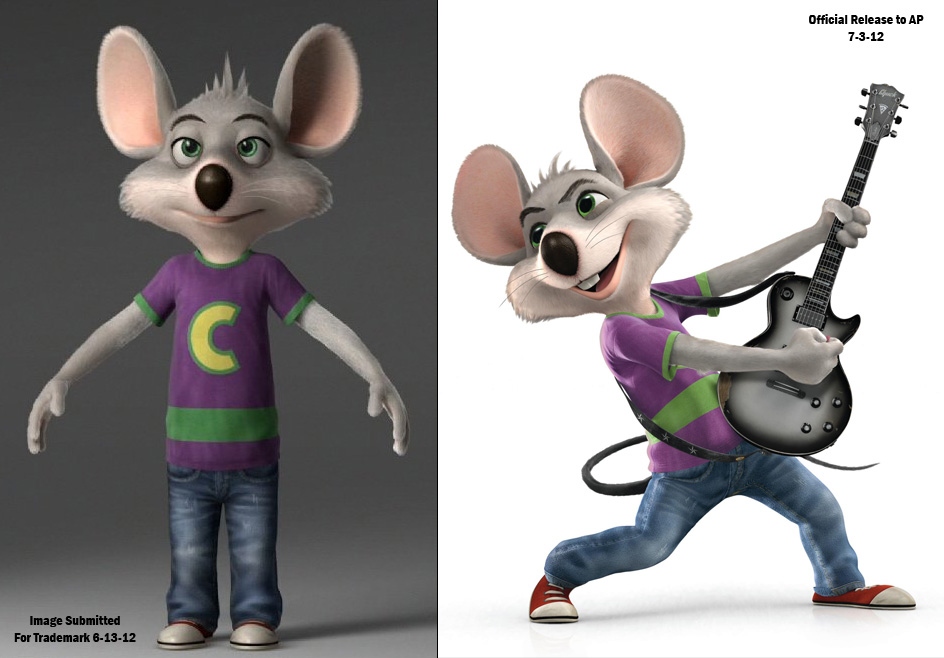 Chuck E Cheese makeover