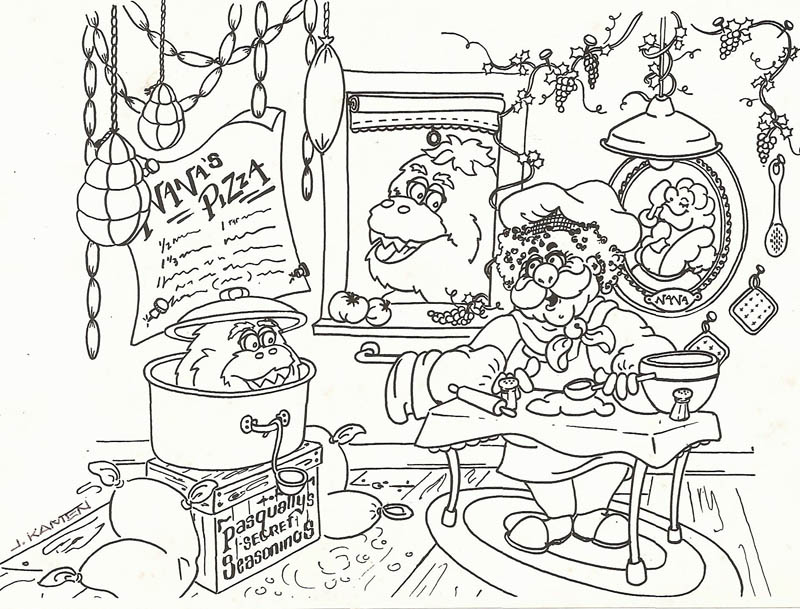 cartoon rockchuck coloring pages - photo#21