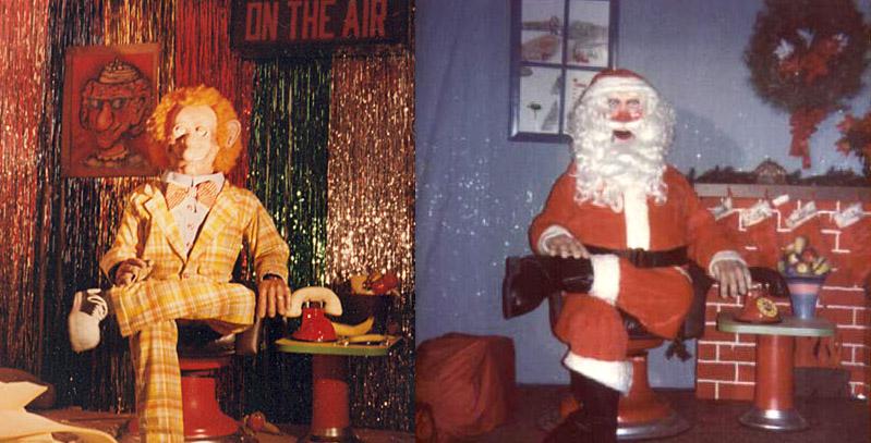 Klunk Santa Stage The Rock Afire Explosion